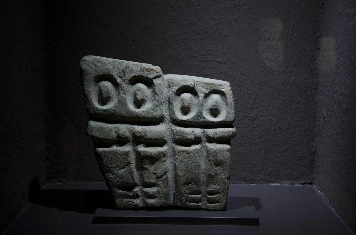 Monoliths from Valdivia (4000-1500 BCE); Casa Alabado, Quito, Ecuador   ©Angela Drake