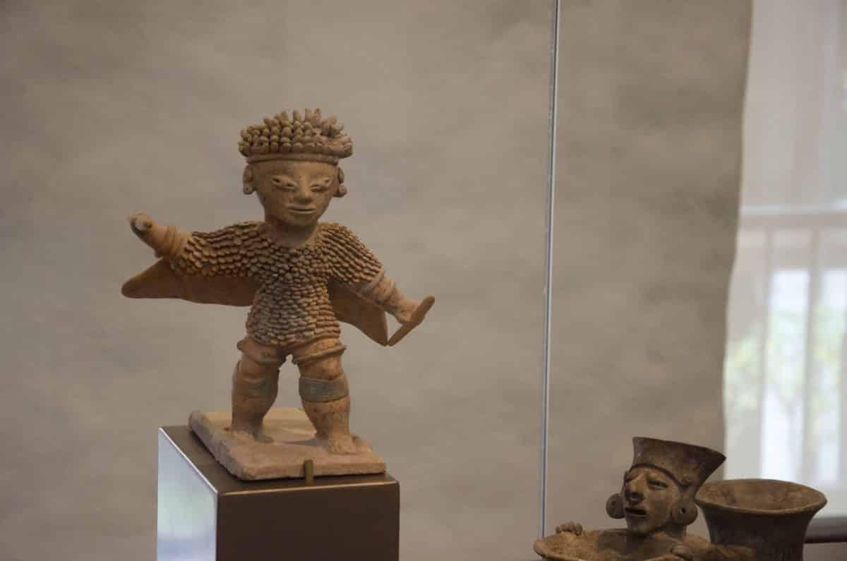 Sculpture from the Cultura Jama-Coaque (350 BCE – 1530 CE); Casa del Alabado, Quito, Ecuador   ©Angela Drake