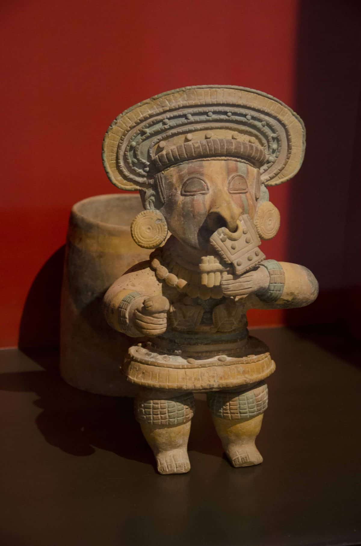 Sculpture from the Cultura Jama-Coaque (500 BCE – 1530 CE); Casa del Alabado, Quito, Ecuador   ©Angela Drake