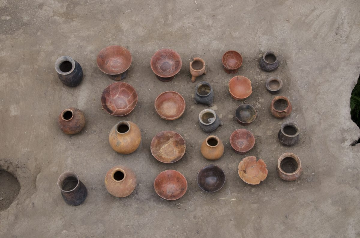 A sample of the pottery found at the Florida site; Quito, Ecuador | ©Angela Drake