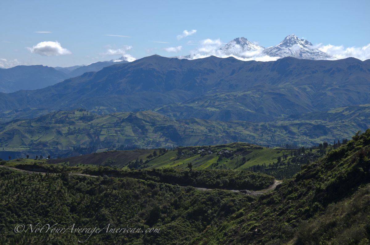 Las Ilinizas, near Chuglichan, Ecuador