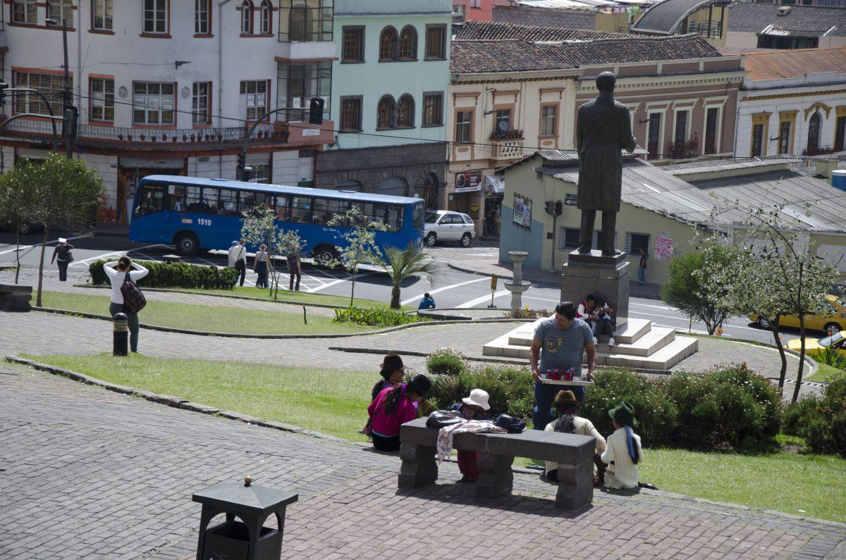 City Bus in Quito