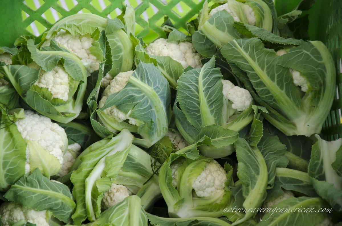 Kale & Cauliflower in Quito?