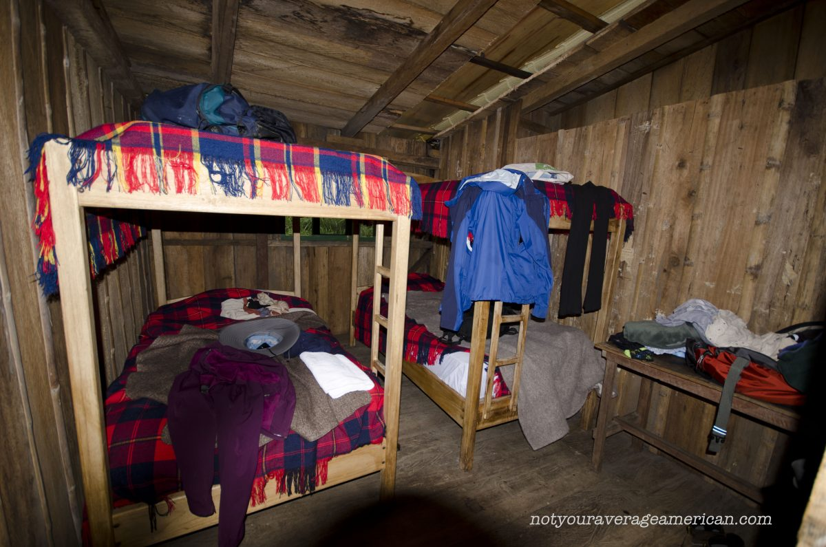 One of the bedrooms at the Bellavista Reserve Scientific Research Station   ©Angela Drake