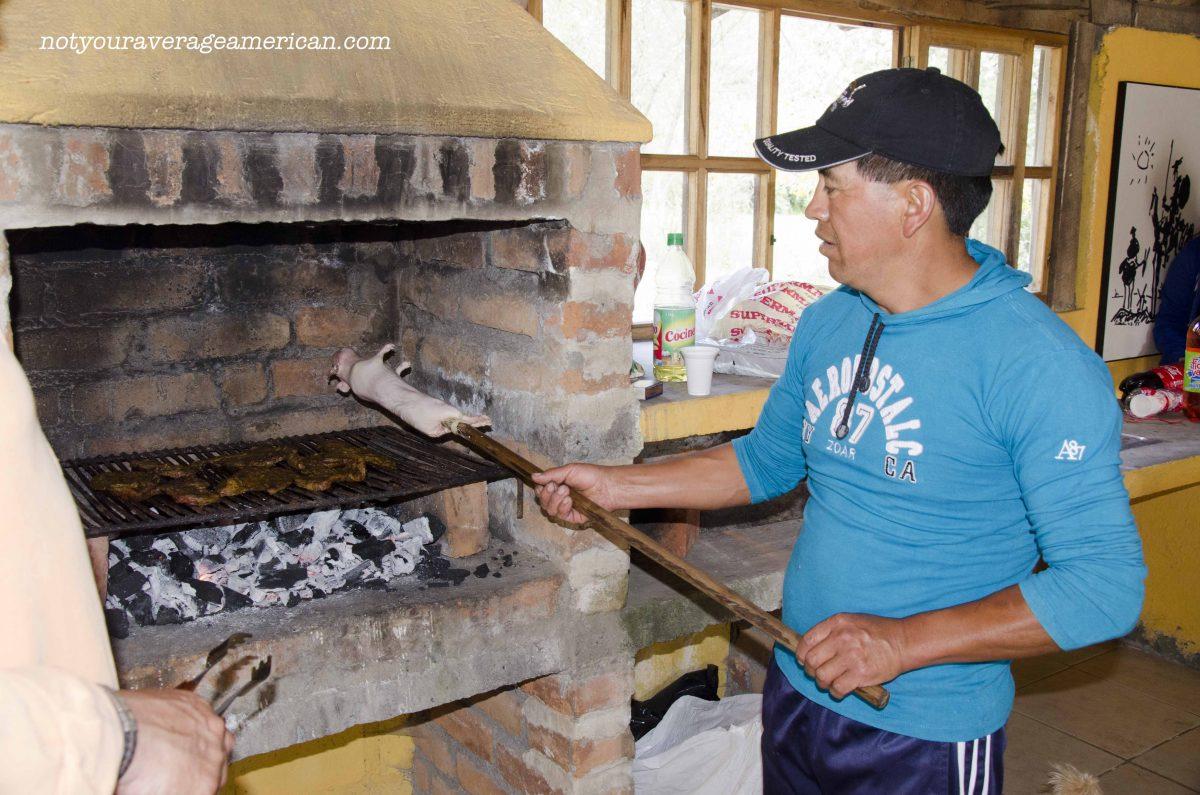 How To Roast Guinea Pig a la Ecuador