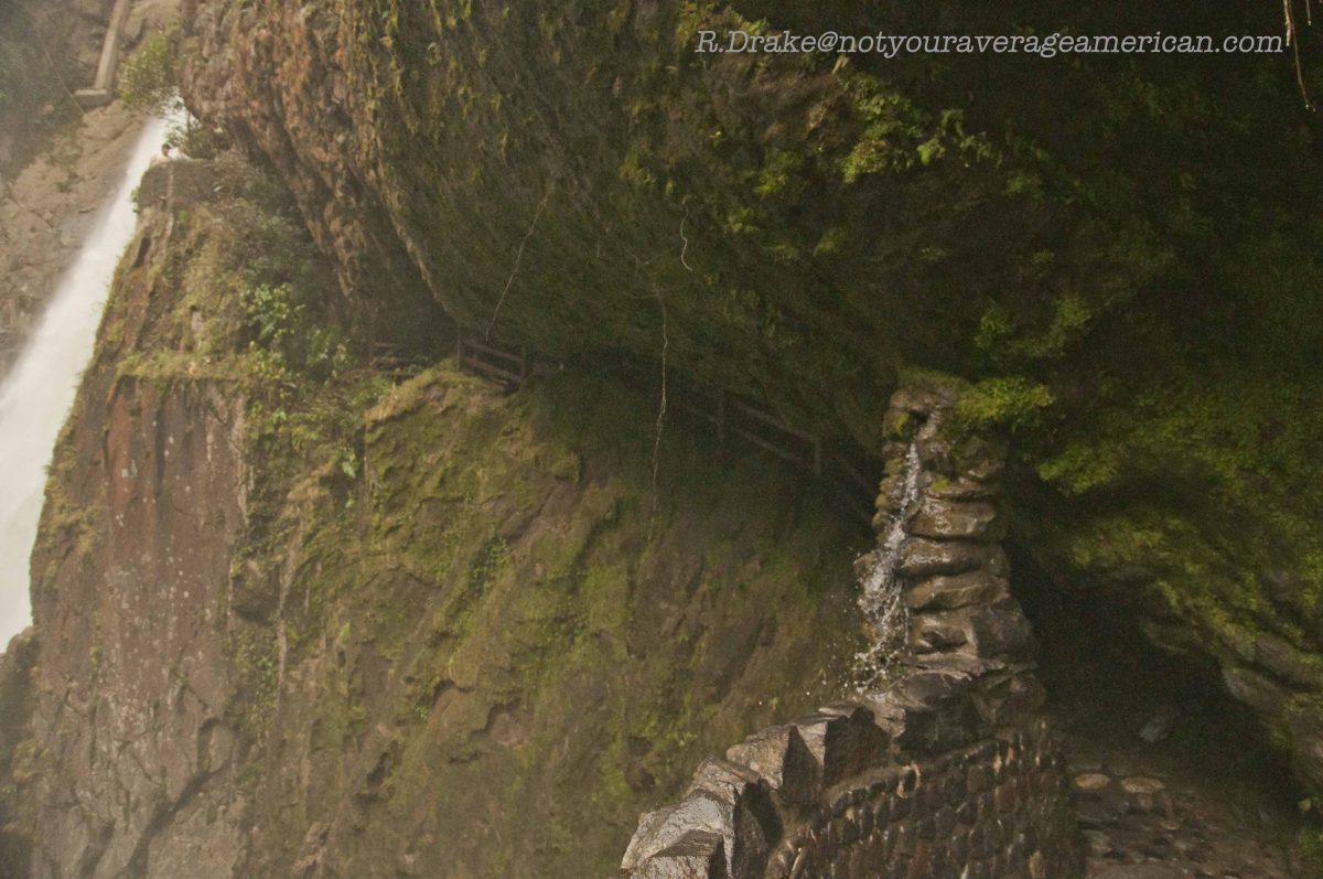 The Cave Trail, The Pailón del Diablo, Baños, Ecuador