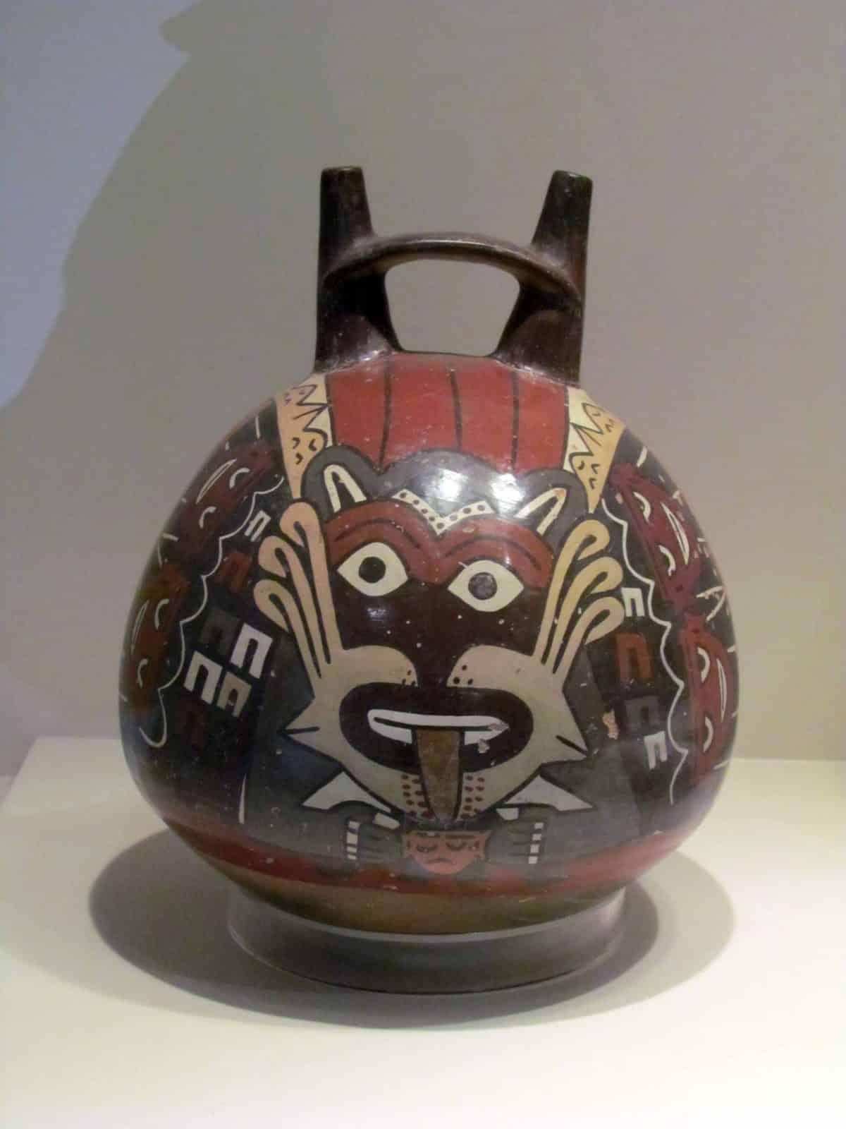 Pre-Incan Ceramics; Pre-Colombian Art Museum, Cusco, Peru   ©Angela Drake