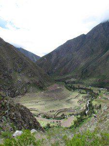 View of Llactapata