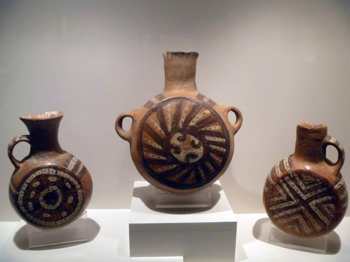 Ceramics on Display at the Pre-Colombian Art Museum in Cusco, Peru   ©Angela Drake