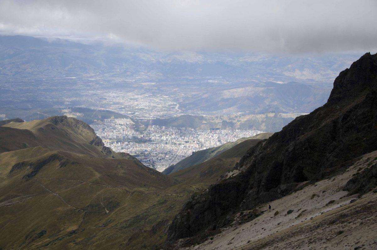 Hiking Rucu Pichincha