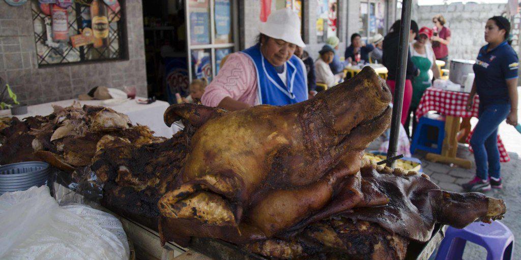 Chef and Vendor of Roast Pig