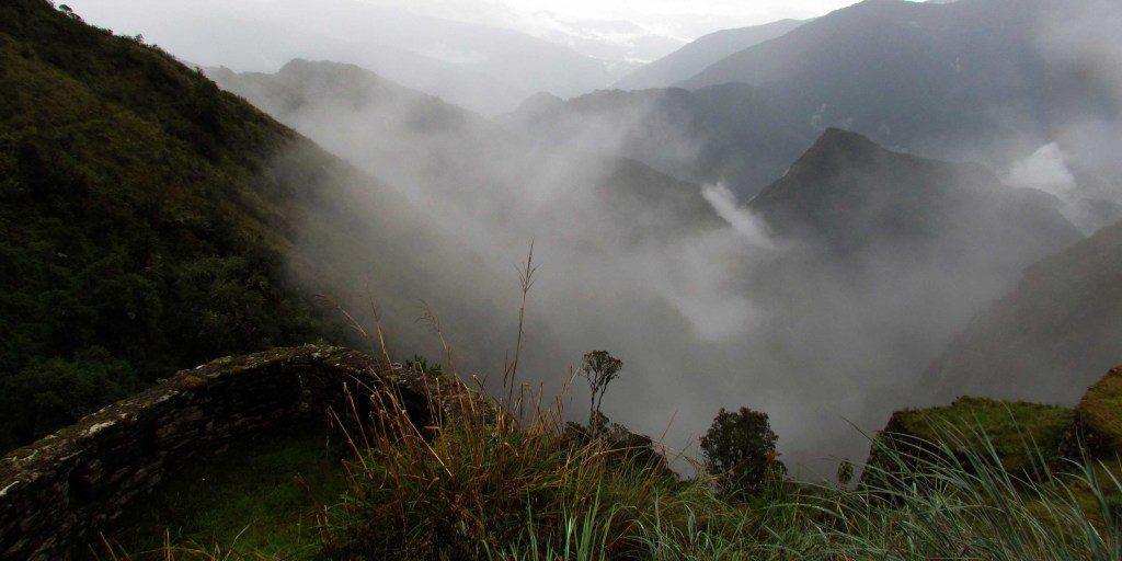 View from Phuyupatamarka