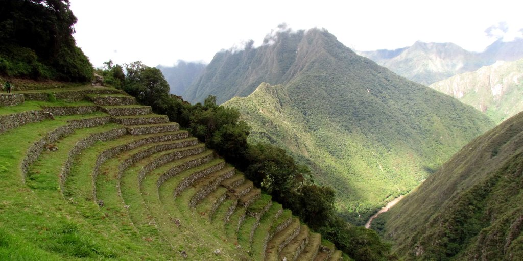 Terraces with river view
