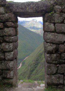 Doorway from temple