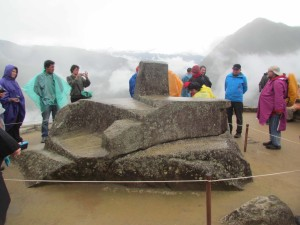 The Intihuatana Stone