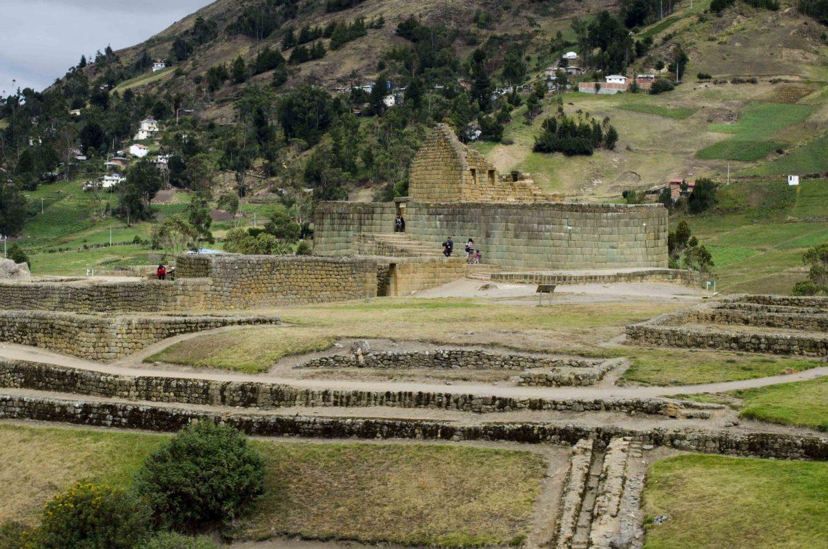 The Temple of the Sun, Ingapirca, Cañar Province, Ecuador