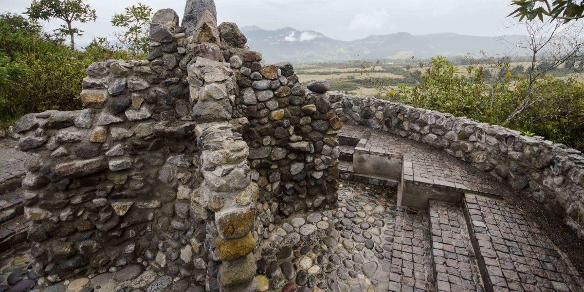 Ritual Bath, Laguna Cuicocha, Ecuador