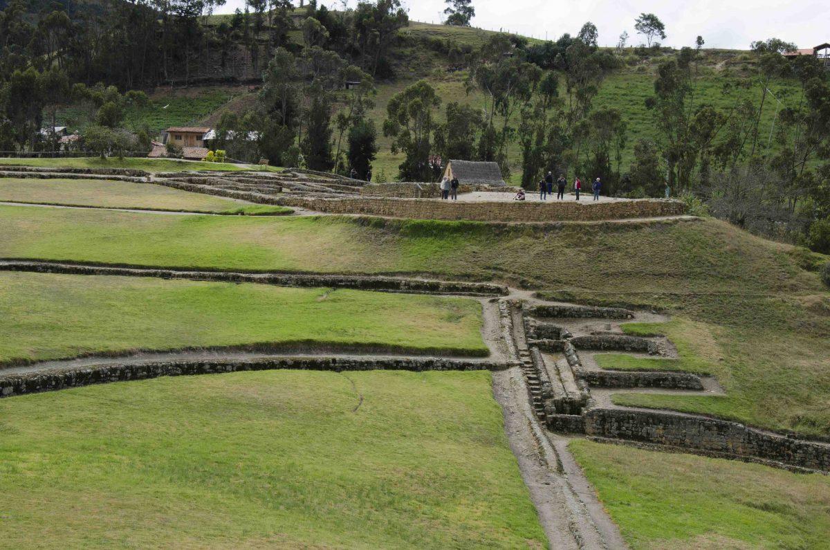 Steps and Baths, Ingapirca, Cañar Province, Ecuador