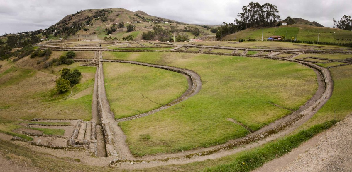 Half Circle Fields, Ingapirca, Cañar Province, Ecuador