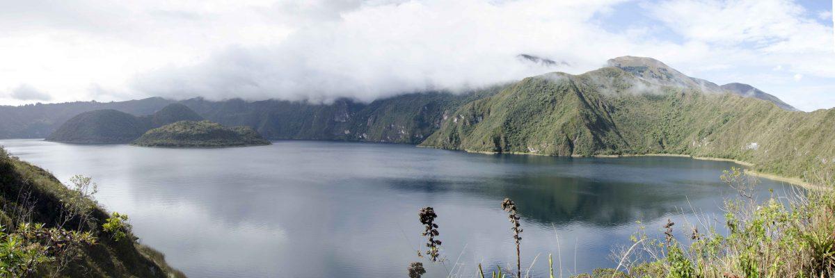 Swiftly Changing Light, Laguna Cuicocha, Ecuador