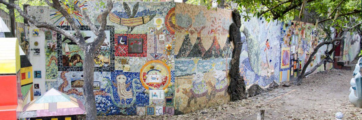 The Garden of Mosaic Tile