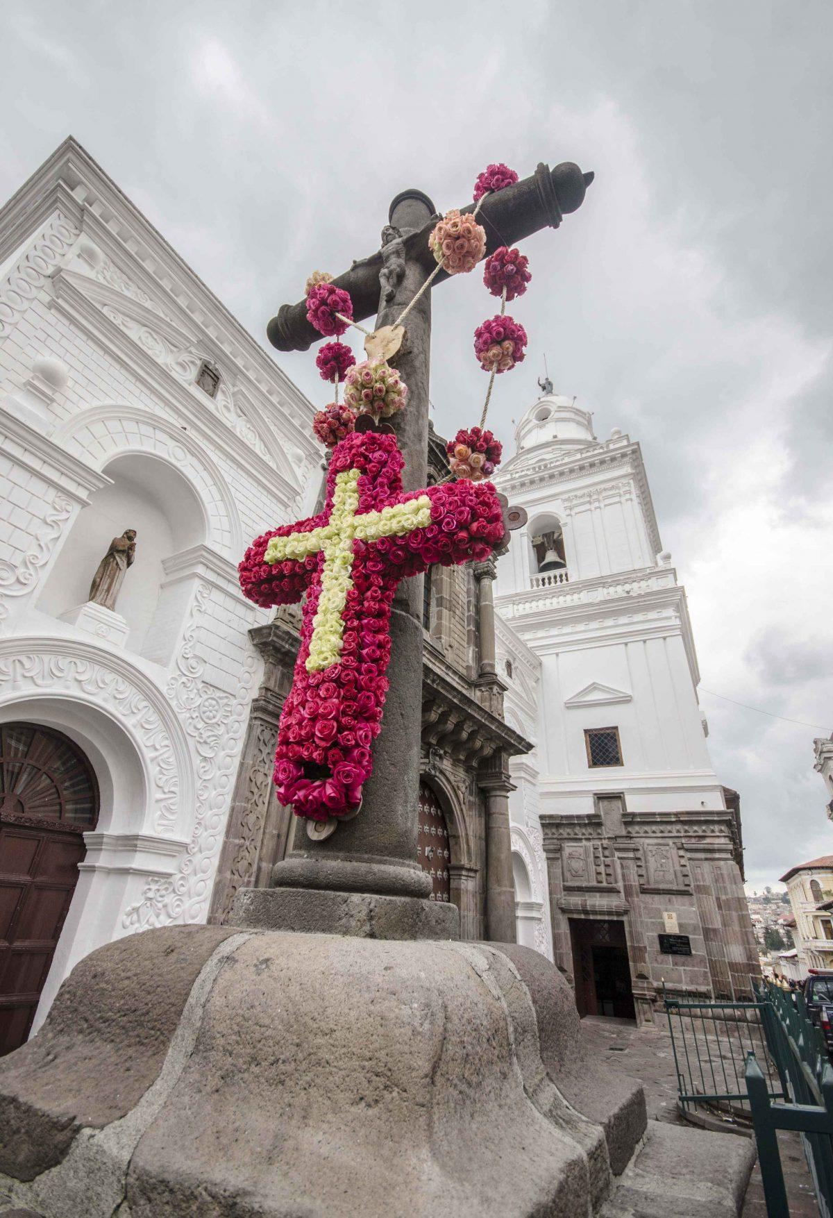 Iglesia de San Agustín; Holy Thursday, April 2015 | ©Angela Drake