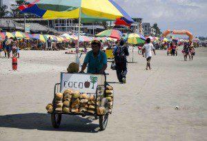 Montañita Vendor