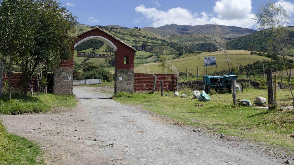 Archway of Hacienda Concepcion Monjas, Lloa, Ecuador