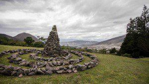 Stones at the Hotel Restaurant El Crater