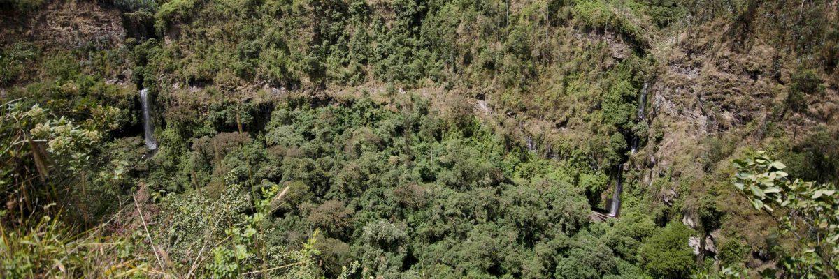 Rumibosque Waterfall
