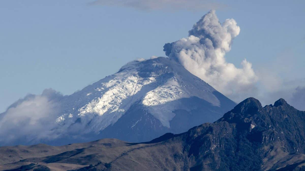 Cotopaxi in Action
