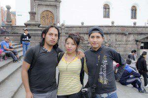 Alberto, Vanessa, and Carlos