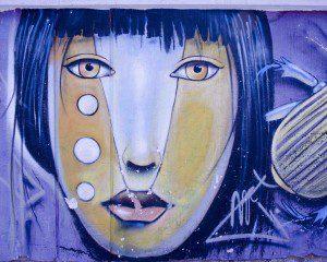Lost Graffiti detail by Steep