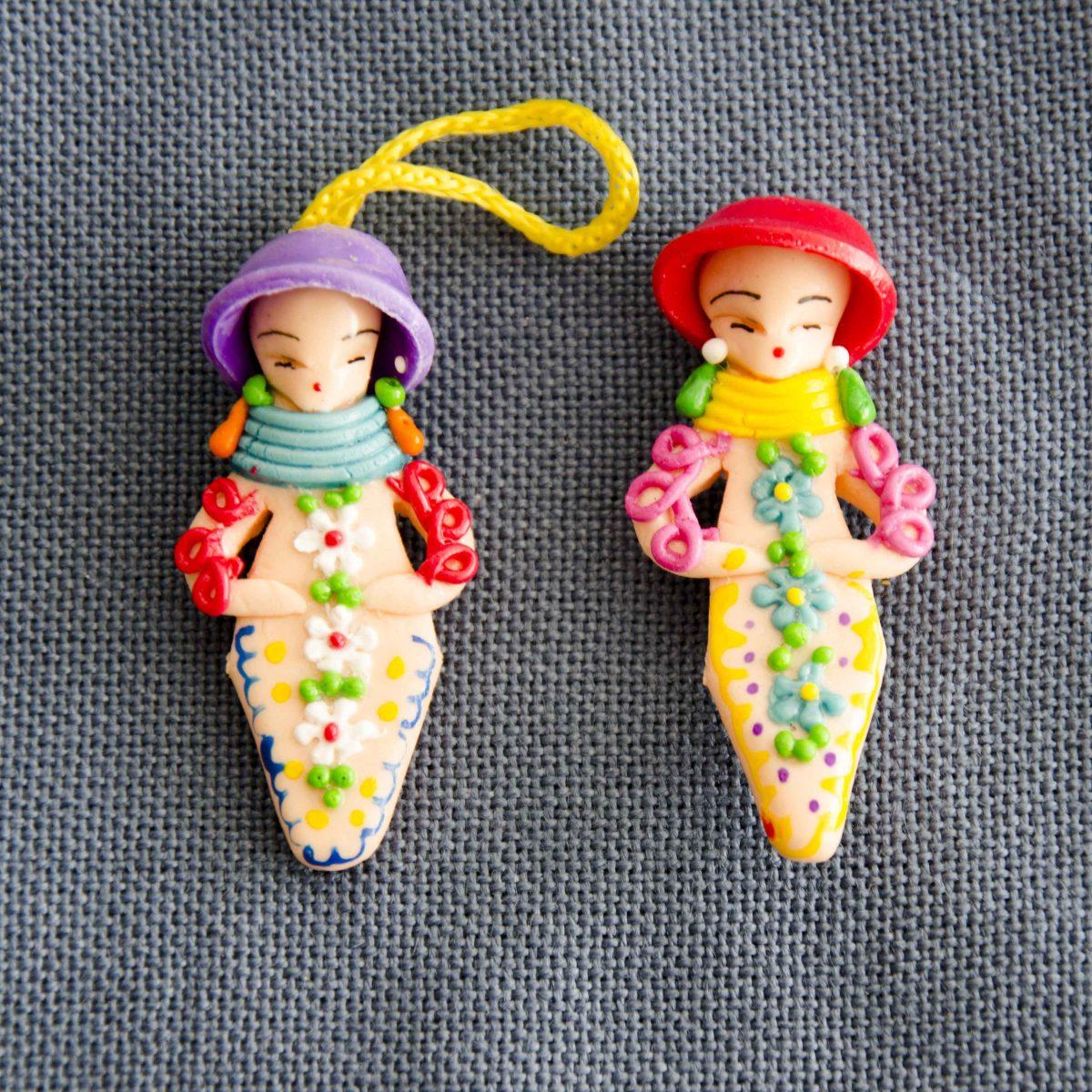Ornaments of Mazapán from Calderón, Ecuador | @Angela Drake