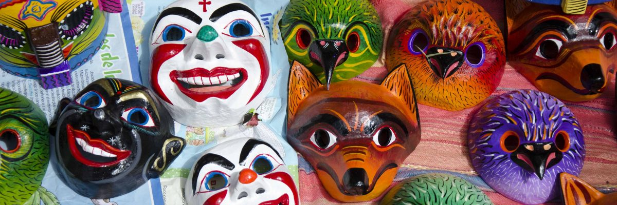 Traditional Masks from Pujilí