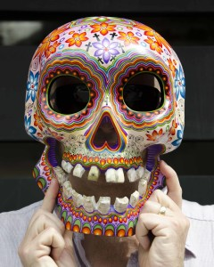 Hand-Painted Skull