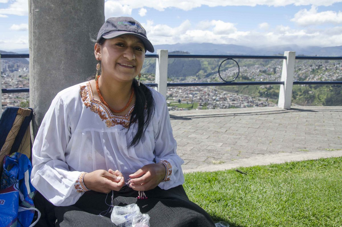 Jewelry Artists at the Panecillo