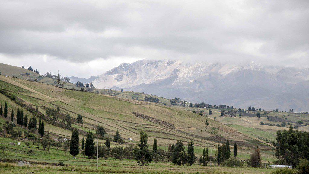 The Base of Chimborazo