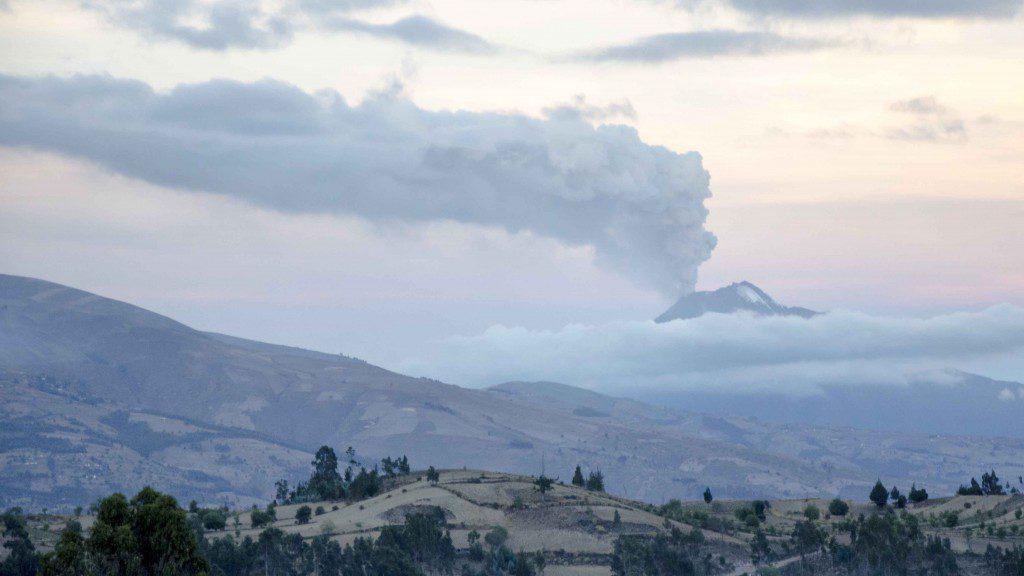 Tungurahua in Eruption