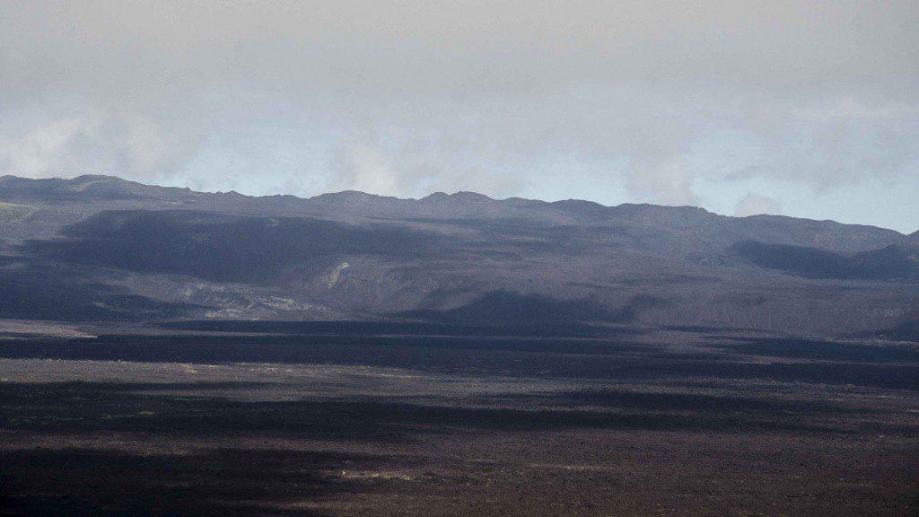 Distant Crater Rim
