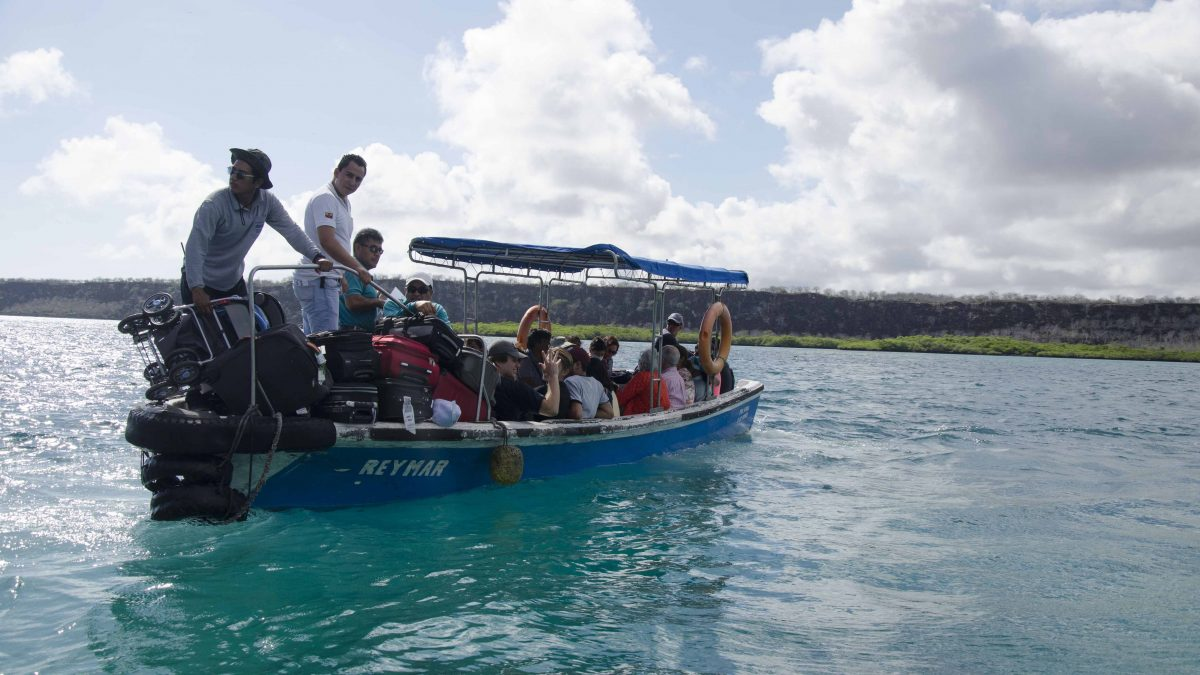 Travel Day, Baltra to Isla Isabela