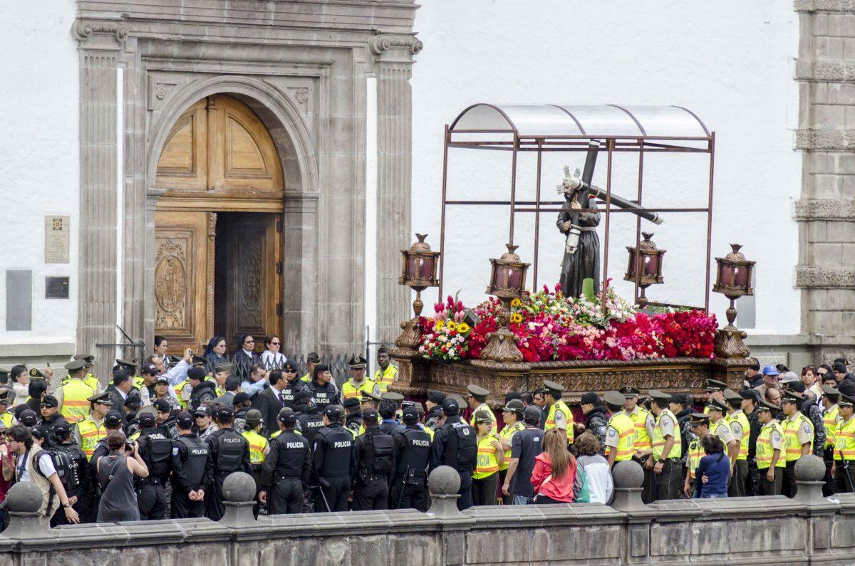 Jesús del Gran Poder, Iglesía San Francisco, Historic Center, Quito, Ecuador | ©Angela Drake