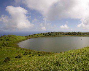 El Junco, a Crater Lake