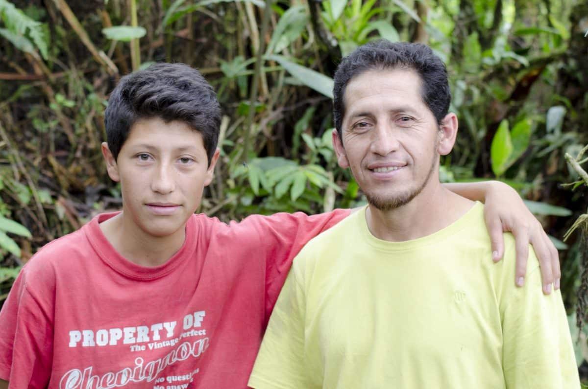 Michael and Eduardo