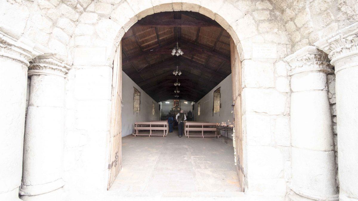 Entrance to the oldest church in Ecuador, Iglesia del Balbanera, Colta | © Angela Drake