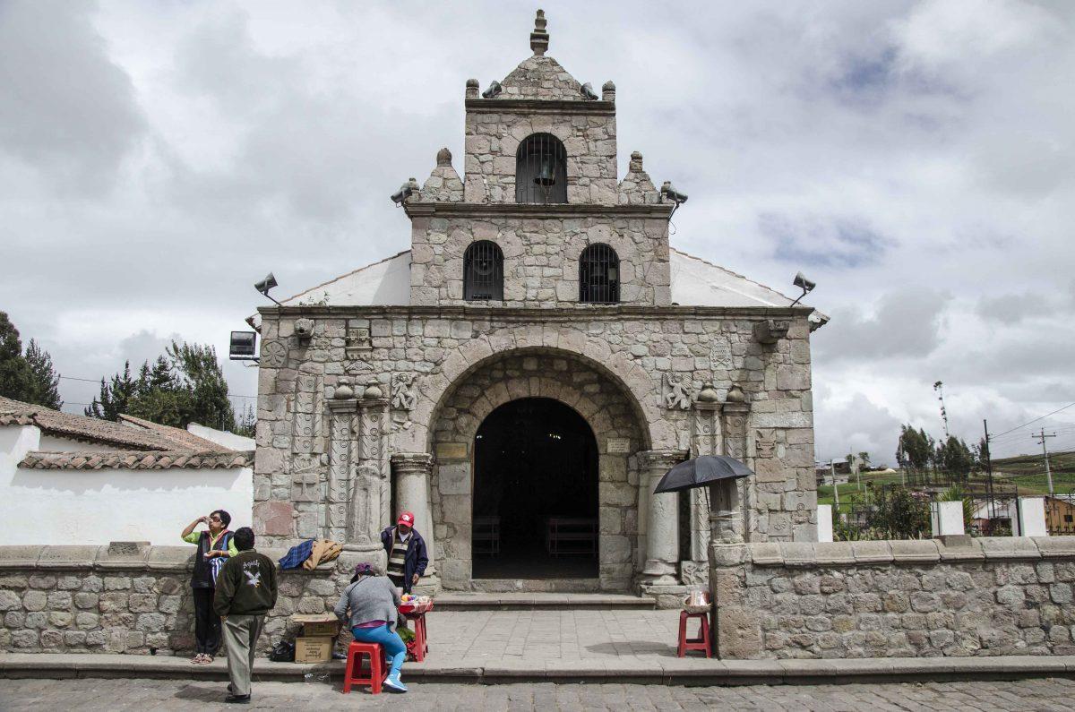 Iglesia de la Virgen María Natividad de La Balbanera, the oldest Church in Ecuador | © Angela Drake