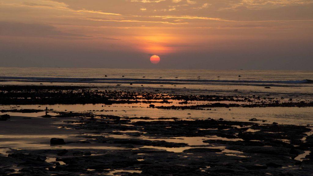 Sunset at Chirije