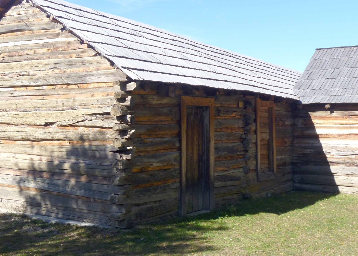 Log Cabin of Butch Cassidy in Cholila, Chubut, Argentina