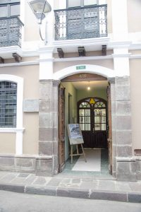 Entrance to the Architecture Museum