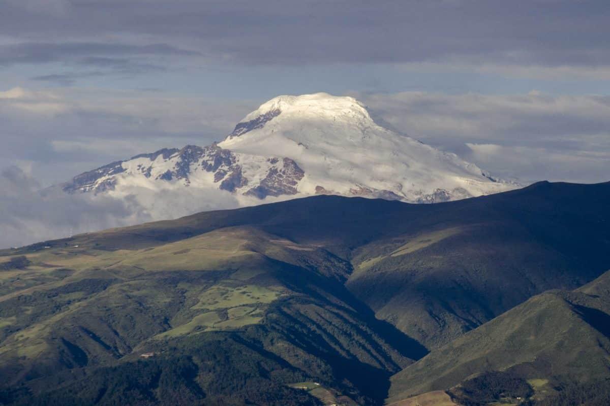 Cayambe Volcano as seen from Quito, Ecuador | ©Angela Drake